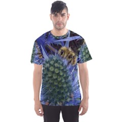 Chihuly Garden Bumble Men s Sports Mesh Tee