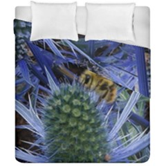 Chihuly Garden Bumble Duvet Cover Double Side (california King Size)