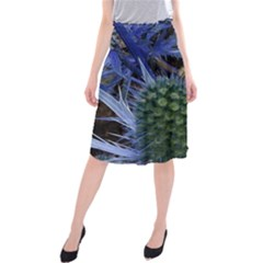 Chihuly Garden Bumble Midi Beach Skirt