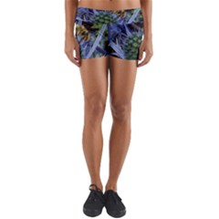 Chihuly Garden Bumble Yoga Shorts
