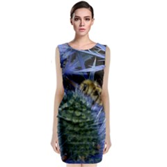 Chihuly Garden Bumble Classic Sleeveless Midi Dress