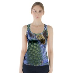 Chihuly Garden Bumble Racer Back Sports Top