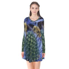 Chihuly Garden Bumble Flare Dress