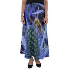 Chihuly Garden Bumble Flared Maxi Skirt