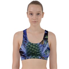 Chihuly Garden Bumble Back Weave Sports Bra