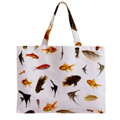 Goldfish Zipper Mini Tote Bag