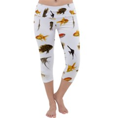 Goldfish Capri Yoga Leggings