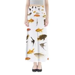 Goldfish Full Length Maxi Skirt