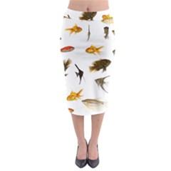Goldfish Midi Pencil Skirt