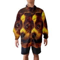 Cute 3d Dog Wind Breaker (kids)