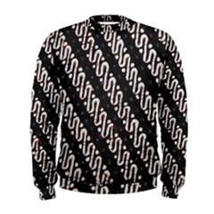 Batik Jarik Parang Men s Sweatshirt