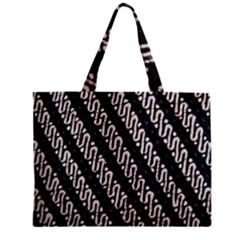 Batik Jarik Parang Zipper Mini Tote Bag