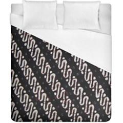 Batik Jarik Parang Duvet Cover (california King Size)