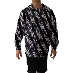 Batik Jarik Parang Hooded Wind Breaker (kids)