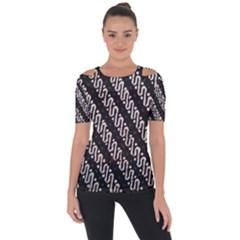 Batik Jarik Parang Short Sleeve Top