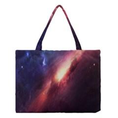 Digital Space Universe Medium Tote Bag