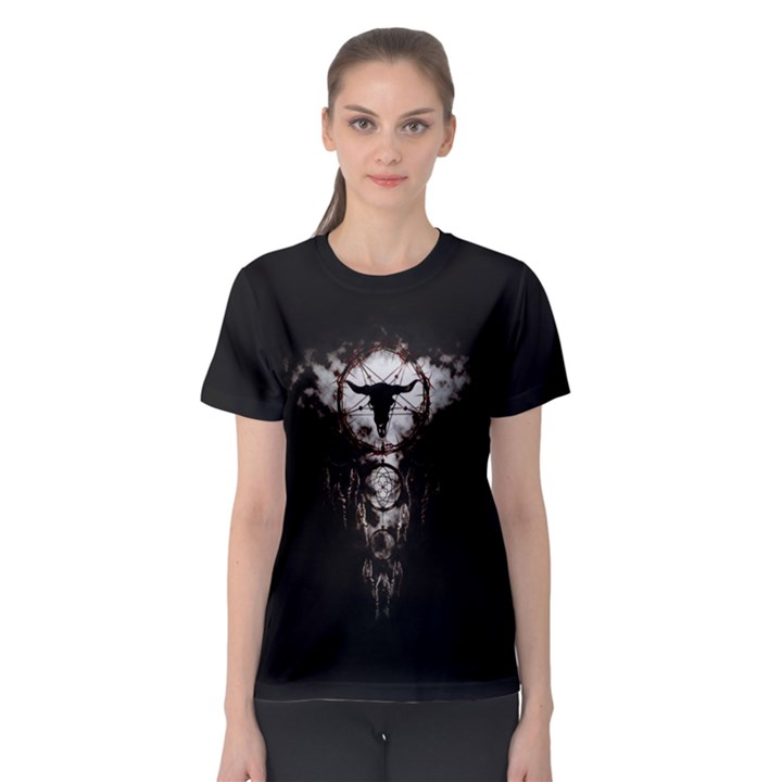DREAMCATCHER Women s Sport Mesh Tee