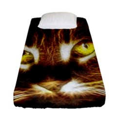 Cat Face Fitted Sheet (single Size)