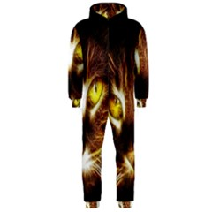 Cat Face Hooded Jumpsuit (men)
