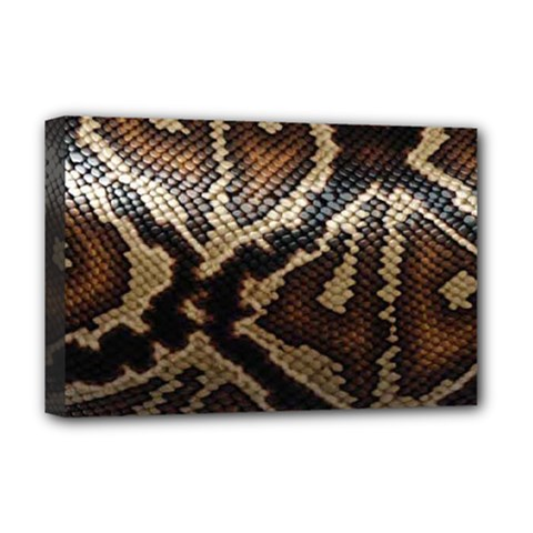 Snake Skin Olay Deluxe Canvas 18  X 12