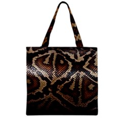 Snake Skin Olay Grocery Tote Bag