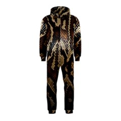 Snake Skin Olay Hooded Jumpsuit (kids)