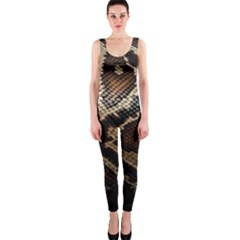 Snake Skin Olay Onepiece Catsuit