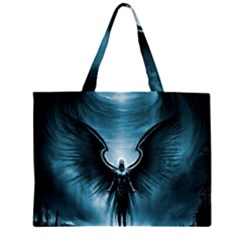 Rising Angel Fantasy Zipper Large Tote Bag