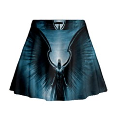 Rising Angel Fantasy Mini Flare Skirt
