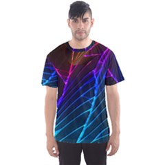 Cracked Out Broken Glass Men s Sports Mesh Tee