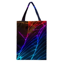 Cracked Out Broken Glass Classic Tote Bag