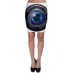 Camera Lens Prime Photography Bodycon Skirt