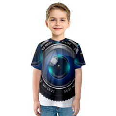 Camera Lens Prime Photography Kids  Sport Mesh Tee