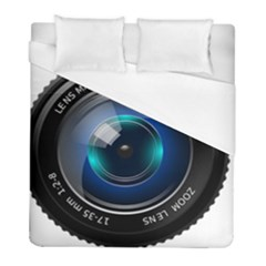 Camera Lens Prime Photography Duvet Cover (full/ Double Size)