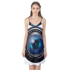 Camera Lens Prime Photography Camis Nightgown