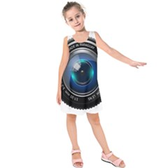 Camera Lens Prime Photography Kids  Sleeveless Dress