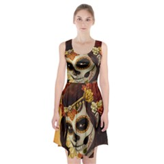 Fantasy Girl Art Racerback Midi Dress