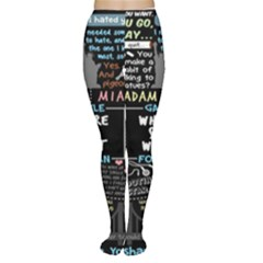 Book Quote Collage Women s Tights