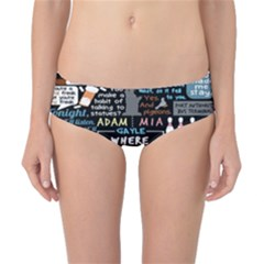 Book Quote Collage Classic Bikini Bottoms