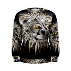 Lion Robot Women s Sweatshirt