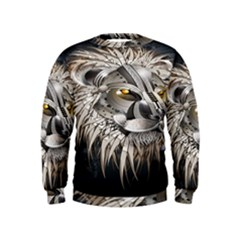 Lion Robot Kids  Sweatshirt