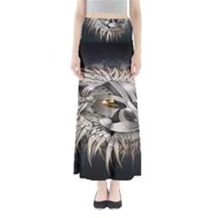 Lion Robot Full Length Maxi Skirt
