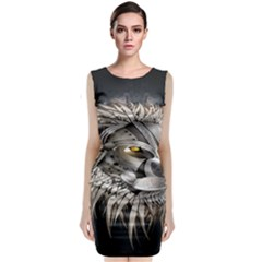 Lion Robot Classic Sleeveless Midi Dress