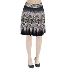 Lion Robot Pleated Skirt