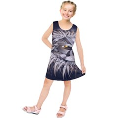 Lion Robot Kids  Tunic Dress