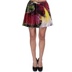 Cendrawasih Beautiful Bird Of Paradise Skater Skirt