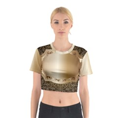 Floral 3 Cotton Crop Top