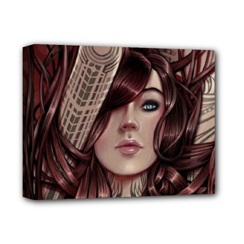 Beautiful Women Fantasy Art Deluxe Canvas 14  X 11
