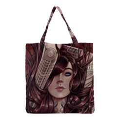 Beautiful Women Fantasy Art Grocery Tote Bag