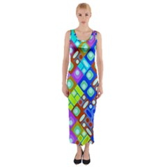 Pattern Factory 32b Fitted Maxi Dress